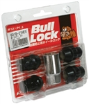 BULL LOCK SET 4 LOCKING NUT *BLACK*