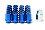 MXP OPEN ENDED FORGED NUTS BLUE