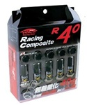 Project Kics R40 Open-Ended Lug Nuts - Set of 20