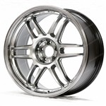 AME TM02 18x9.0 +35 5x100 Hypersilver (Set of Four)
