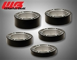 WORKS BELL ALUMINUM SPACERS (Black painted)