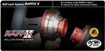 WORKS BELL Rapfix II - SILVER, RED, BLACK, ORANGE, BLUE