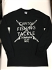 Capitol Fishing Tackle Company Famous Long Sleeved T-Shirt Black