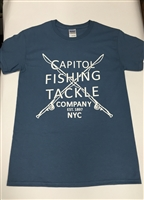 Capitol Fishing Tackle Company Famous Light Blue T-Shirt