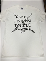 Capitol Fishing Tackle Company Famous T-Shirt White