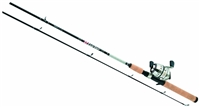 Daiwa D-Turbo Pre-Mounted Spincast DT-3B Reel and Fiberglass Rod Combos