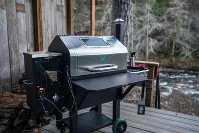 Daniel Boone Pellet Grill Wifi-Enabled