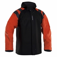 Grundens Balder 302 Hooded Jacket Orange/Black