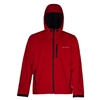 Grundens Gage Midway Hooded Softshell Red