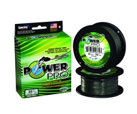 Power Pro Moss Green 500 Yard Spools