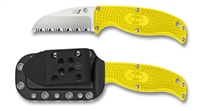 H-1 Enuff Serrated Yellow Sheepfoot Series