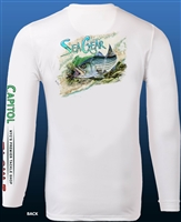 SeaGear Hungry Striper Performance Long Sleeve Shirts
