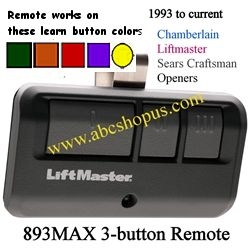 893MAX Remote Control Transmitter