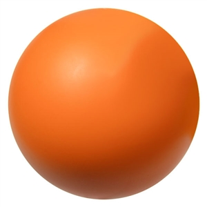 orange foam hockey ball 2.75""