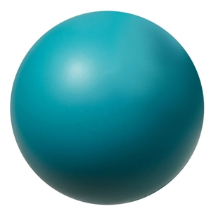 teal foam hockey ball 2.75""