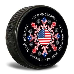 official regulation puck souvenir USA hockey puck