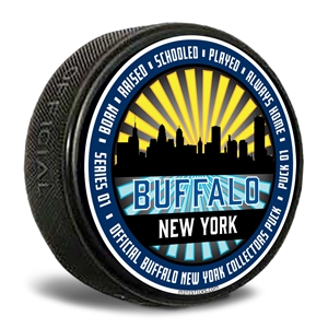 Buffalo New York Hockey Puck