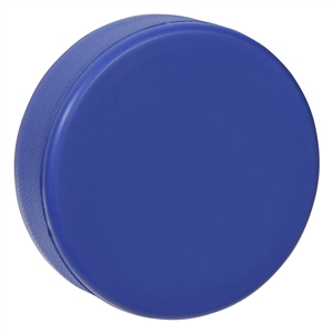 blue hockey puck foam hockey puck blue hockey puck