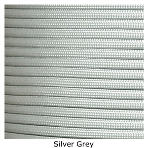 Silver lacrosse string to put on your lacrosse stick