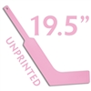 unprinted plastic pink mini goalie stick 19.5""