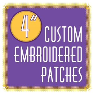 "custom patches 4.0"" embroidered custom embroidered patches 4.0"""