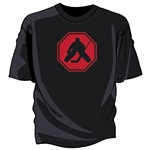 Goalie Stop Sign Tee Shirt