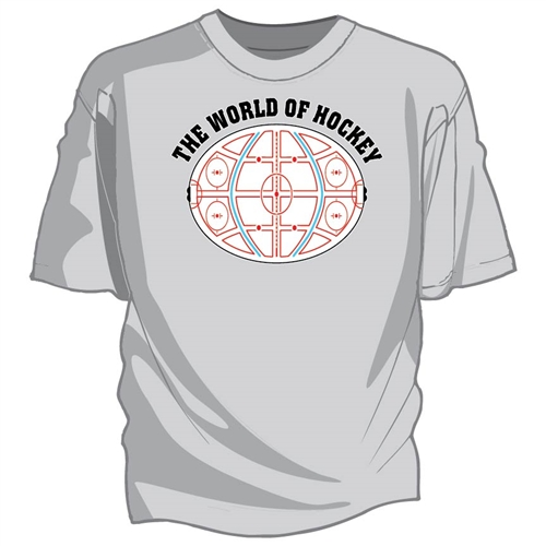 World of Hockey Tee Shirt
