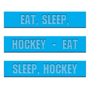 silicone wrist band, hockey wrist band, promotional wrist band