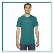 American Apparel Unisex Triblend Track T-Shirt with Custom Embroidery, Custom Embroidered American Apparel T-Shirts, American Apparel TR401  T-Shirt Best Price