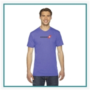 American Apparel Unisex Triblend Track T-Shirt with Silkscreen Logo, Custom Logo American Apparel T-Shirts, American Apparel TR401 T-Shirt Best Price