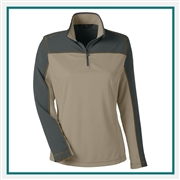 North End Ladies Excursion Circuit Performance Half-Zip Pullover, Pullover Custom Embroidered, North End 78220, Promotional Apparel, Embroidered Apparel, Custom Logo Pullovers