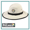 AHEAD The Palmer Hat with Custom Embroidery, AHEAD Custom Sun Hats, AHEAD Custom Logo Gear