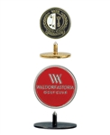 Ball Marker With Post with Custom Logo, Custom  Ball markers, Custom Logo Ballmarkers, Custom Ballmarkers, Promotional Ball Markers
