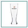 16 Oz Tall Pilsner  Glass with Custom Logo , Custom Logo Pilsner Glasses, ETS Express Item Number 1604, Custom Printed Pilsner Glasses