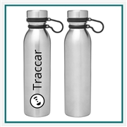H2GO Concord 25 Oz Stainless Steel Water Bottle with Custom Printed, H2GO Branded Water Bottles, H2GO Corporate & Group Sales