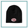 AHEAD Beanie No Cuff with Custom Embroidery, AHEAD Custom Fleece Beanies, AHEAD Custom Logo Gear