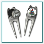 Minuteman Repair Tool Custom Logo Divot Tools, Promotional Divot Tools, Custom Logo Divot Toolss, Custom Ball marker, Custom Divot Repaor Tools, Personalized golf tournament gifts