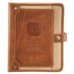 Field & Co. Cambridge ETech Writing Pad, Custom Padfolios, Imprinted Padfolio,, Leeds Promotioinal Products