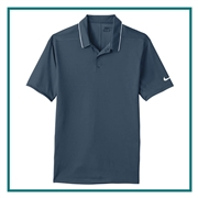 Nike Golf Men's Dri-FIT Edge Tipped Polo with Custom Embroidery, Nike Custom Polos, Nike Custom Logo Gear