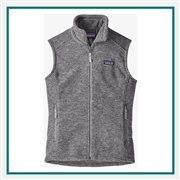 Patagonia Women's Classic Synchilla Fleece Vest 23015 with Custom Embroidery, Patagonia Custom Fleece Vests, Patagonia Custom Logo Gear