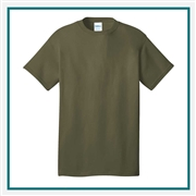 Port & Company - 5.4-oz 100% Cotton T-Shirt PC54 with Custom Embroidery, Custom Embroidered Port & Company T-Shirts, Port & Company PC54 T-Shirt Best Price