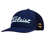 Titleist Tour Mesh Snapback Golf Hat with Custom Embroidery, Titleist Custom Hats, Titleist Corporate Logo Gear