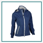 Zero Restriction Ladies' Hooded Olivia Jacket with Custom Embroidery, Zero Restriction Custom Jackets, Zero Restriction Custom Logo Gear