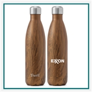 S'Well 17 Oz Wood Collection Bottle Custom Branded