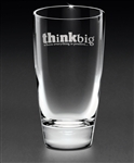 Mystique Cooler Glass, Custom Etched Glasses, Engraved Highball Glasses, Glassware with Engraved Logo, Sand Etched Barware