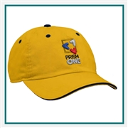 AHEAD Hathaway Golf Cap with Custom Embroidery, AHEAD Custom Golf Caps, AHEAD Custom Logo Gear