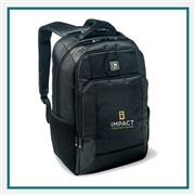 OGIO Roamer Backpack 110172 with Custom Embroidery, OGIO Branded Backpacks, OGIO Promotional Backpacks