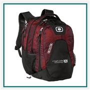 OGIO Juggernaut Backpack 411043 with Custom Embroidery, OGIO Promotional Backpacks, OGIO Corporate Logo Gear