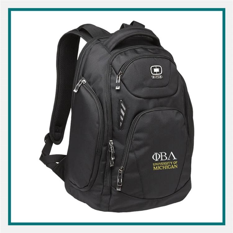 OGIO Mercur Backpack 411065 with Custom Embroidery | OGIO Custom ...