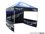 10 x 10 Custom Popup Tent with Side Skirts, 10 x 10 Custom Printed Tradeshow Tent, Custom Popup Canopies Buy Online